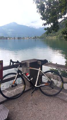 Radlstopp am Zeller See