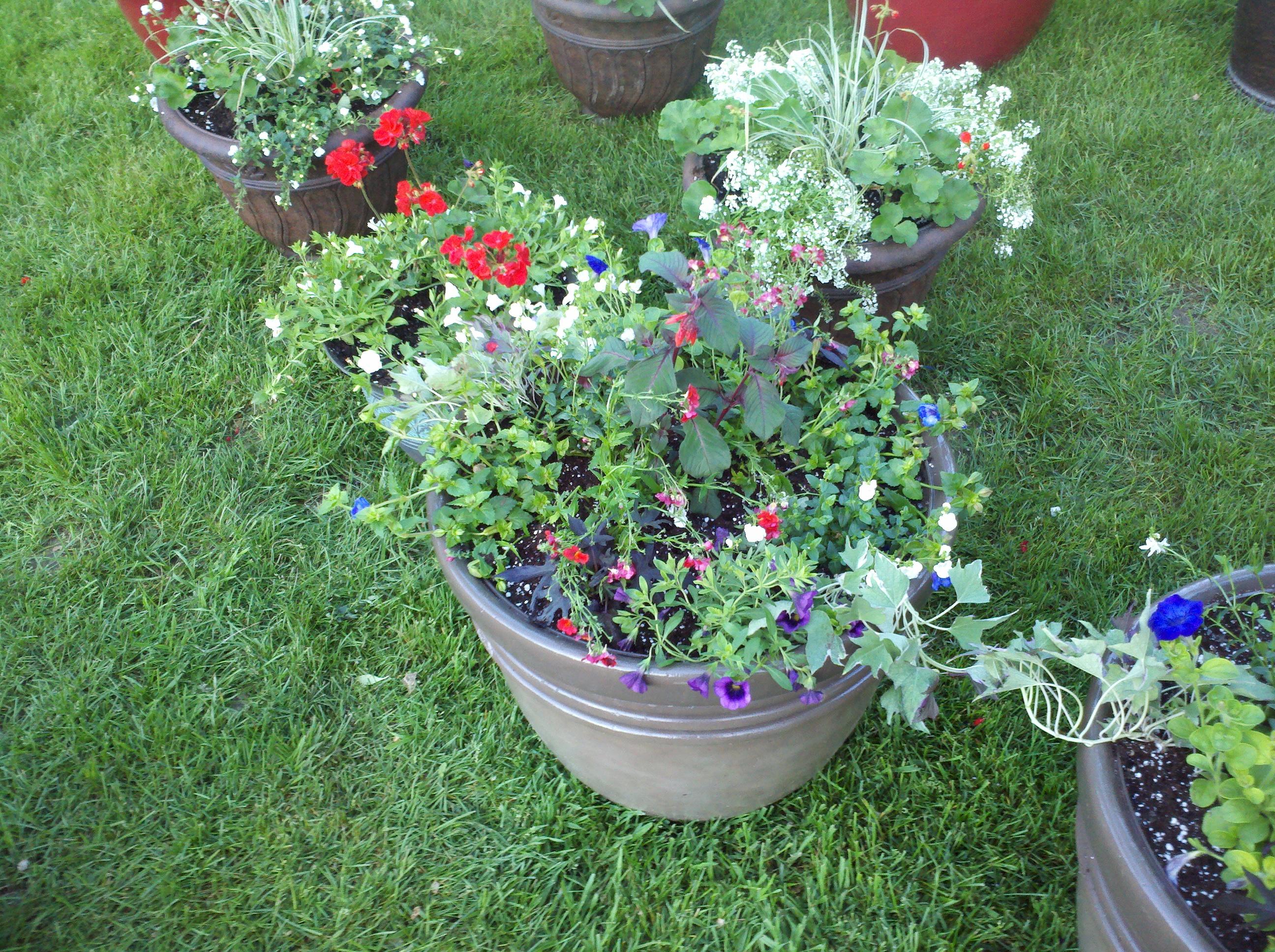 matching planters sets