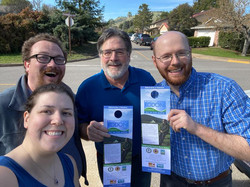 Walking Precincts for Supervisor Dennis Rodoni (District 4) in February 2020