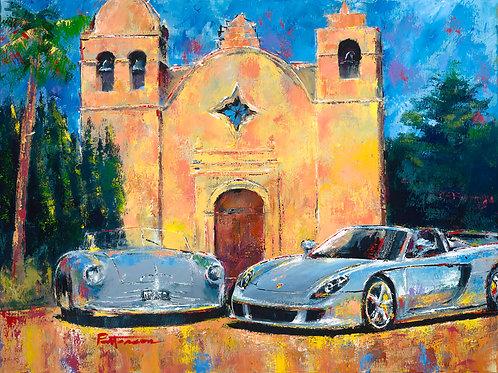 Twin Porsches