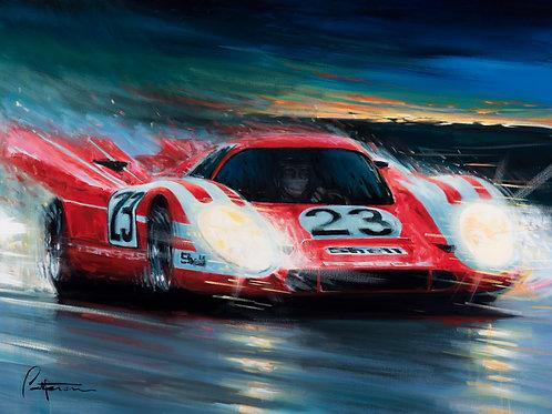 """Porsche's First!"" LIMITED EDITION PRINTS"