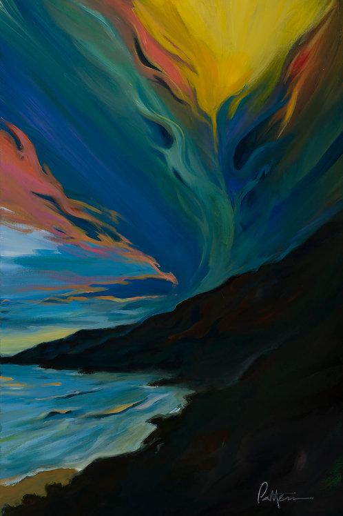 Coastal 1 - Giclee on Canvas