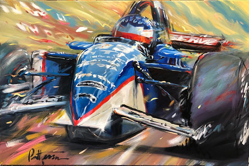 Dixon's First Win - Giclee on Canvas