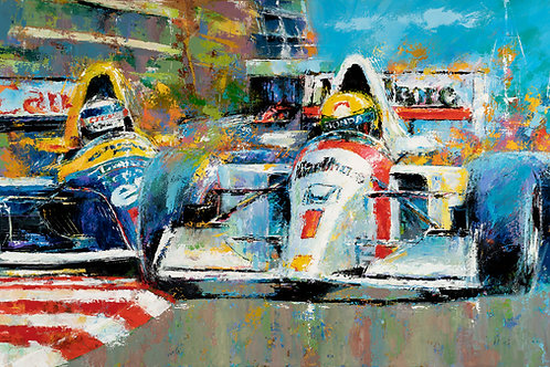 Last Lap, Monaco '92