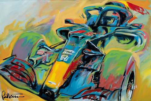 Red Bull Racing 2020 - Giclee on Canvas