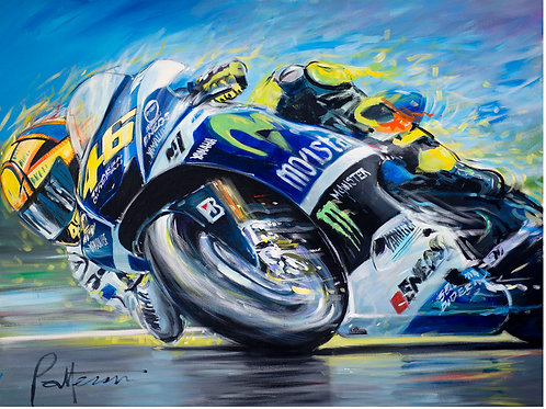 Rossi 2014 - Limited Edition Print