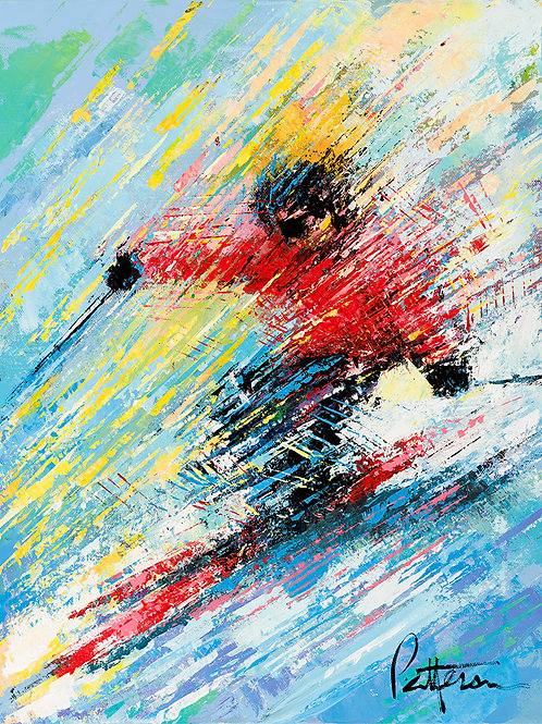 Untitled Skier 5 - Giclee