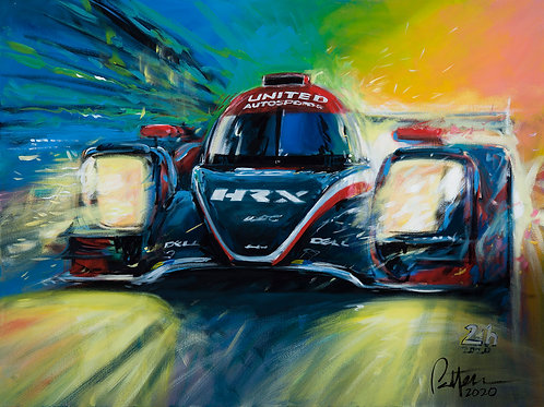 United AutosportsWins Le Mans 2020! - Giclee on Canvas