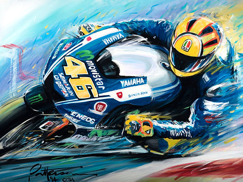 Vale 2014 –Giclee on Canvas