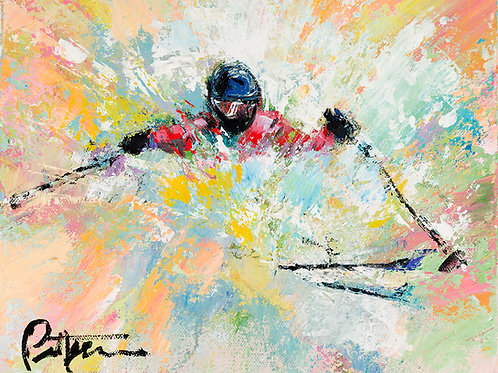 Untitled Skier 4 - Print