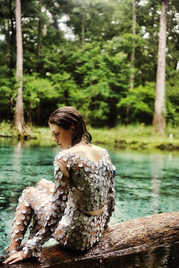 Chip bag body suit, photo by Onna Maya Meyer