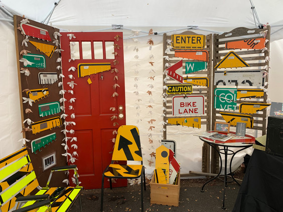 Bethesda Row Festival Booth