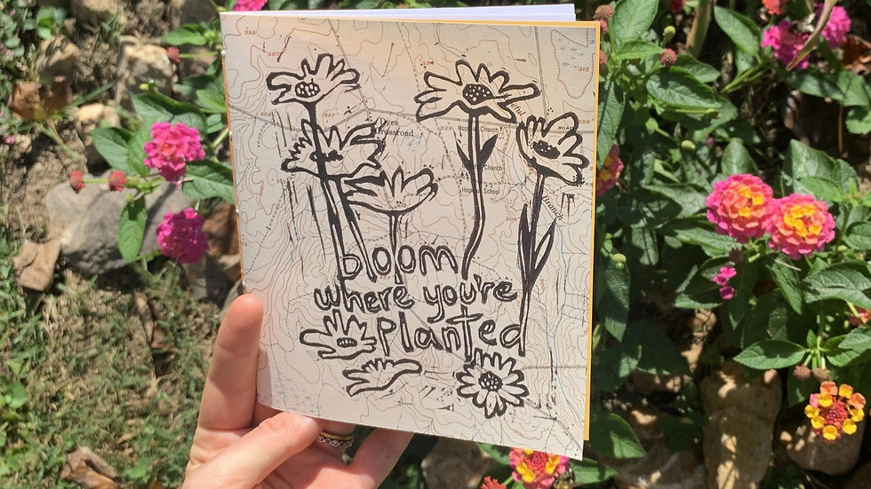 Notebook - Bloom Where You're Planted