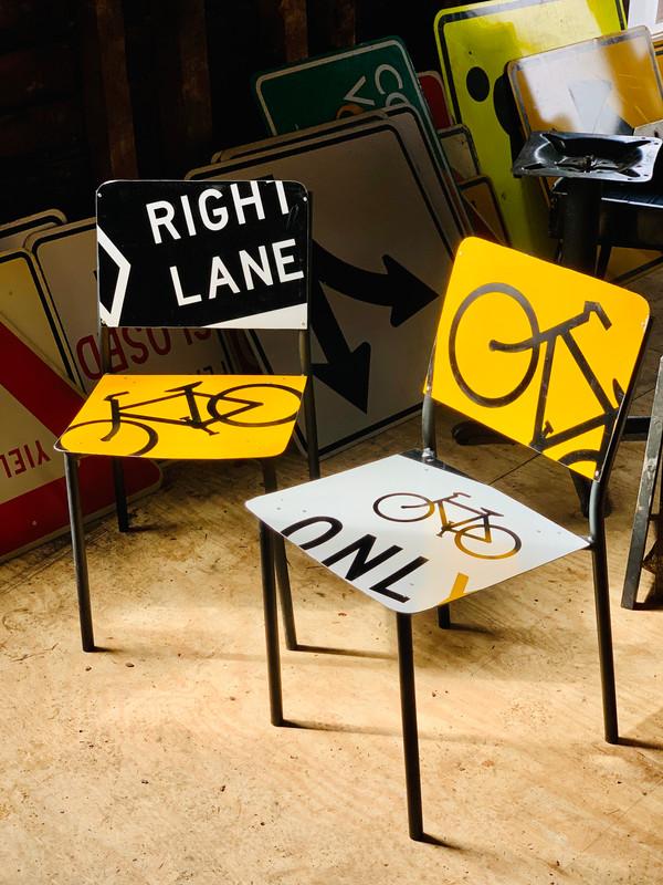 Bike Chair Set