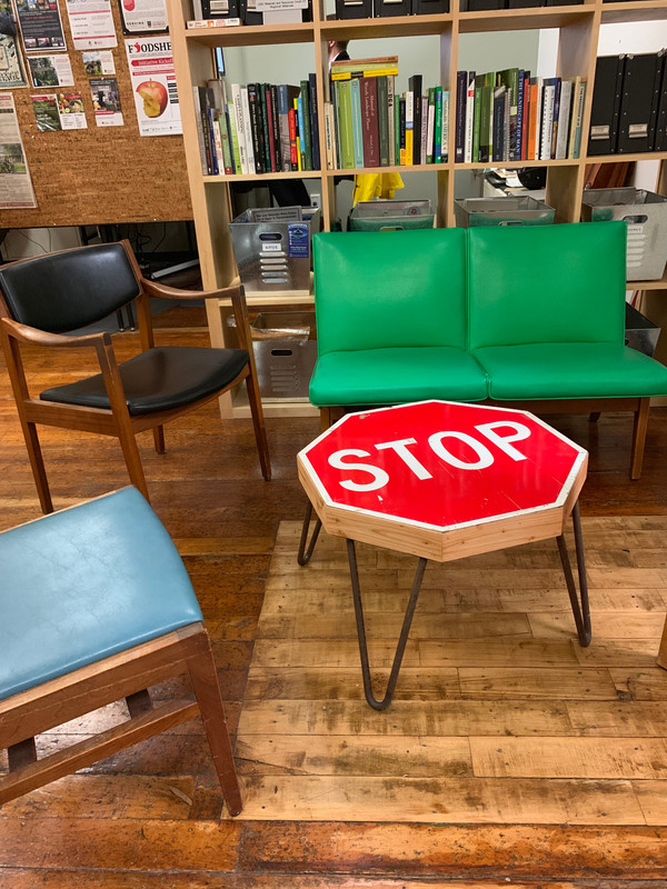 Stop Sign Table