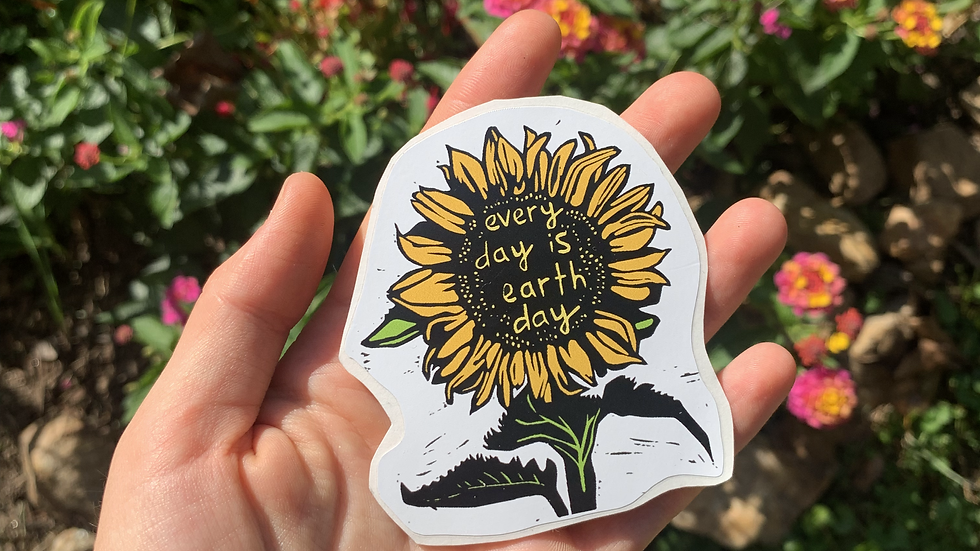 Sticker - Every Day is Earth Day