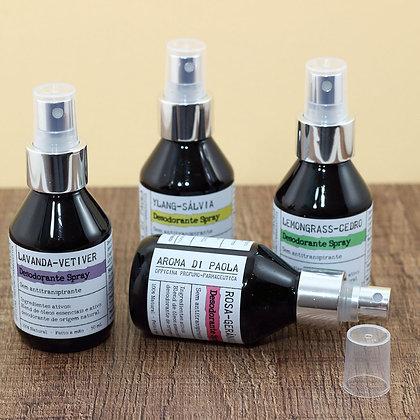 Desodorante spray 100% natural
