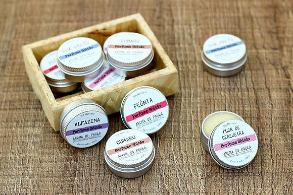 Perfume sólido - aromas tradicionais