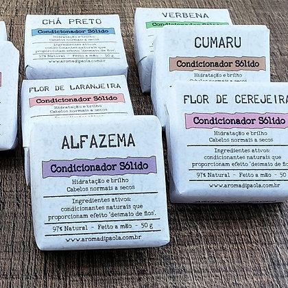 Condicionador sólido - aromas tradicionais