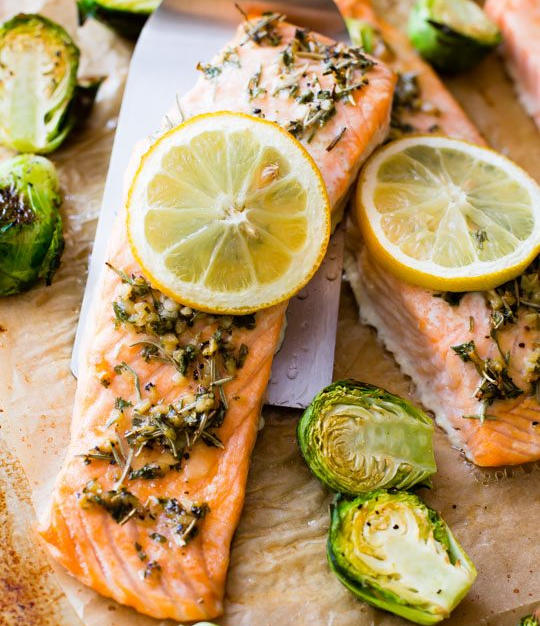 Herbed Salmon Fillet Box