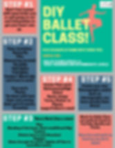 DIY Ballet Class! Stay in Shape at home
