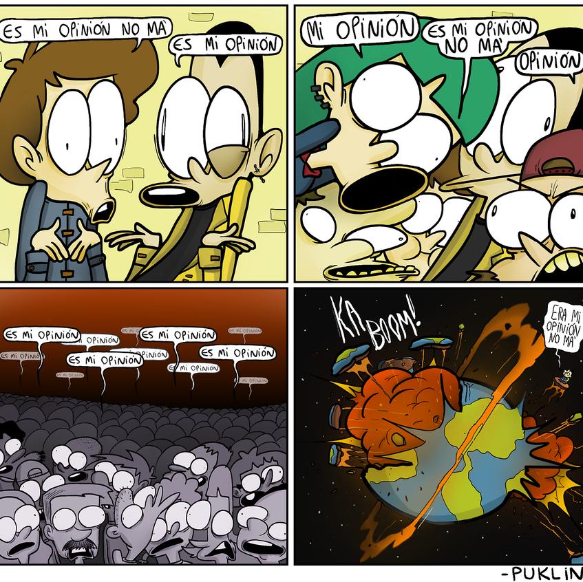 Galeria The Comic Fome/ Puklin