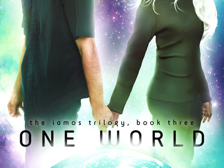 Cover Reveal: One World, Book 3 of the Iamos Trilogy!