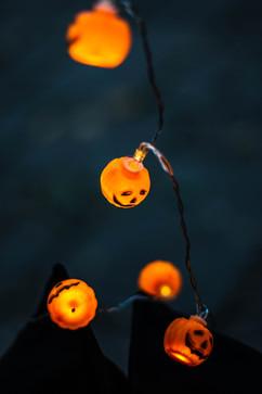 Lumières de ficelle Halloween