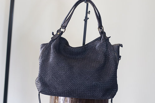 W20 Import AH59 Black Leather Bag