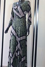 W20 Import Rosy Zebra Dress