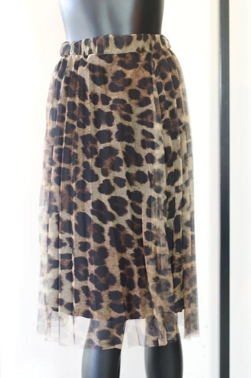 W20 Import Leopard Skirt