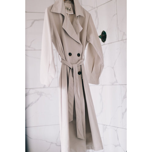 ANT S20 Stone Trench Coat