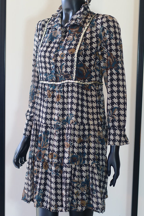 W20 Import Houndstooth Dress