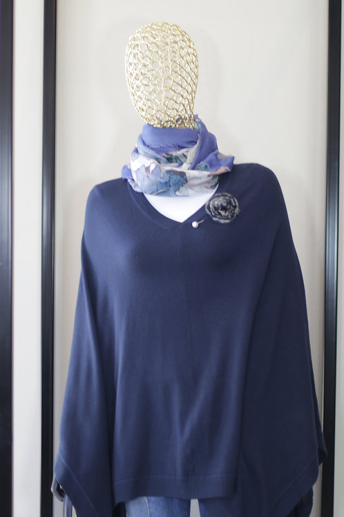 W20 Import Blue Poncho