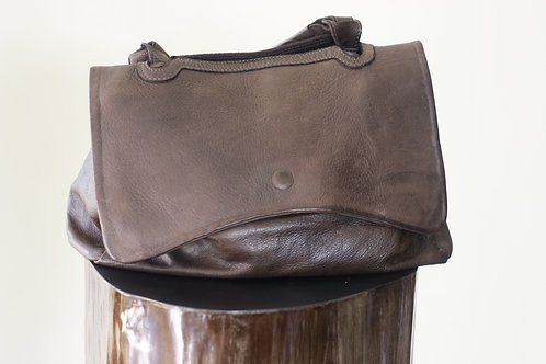 W20 Import B758 Brown Leather Bag