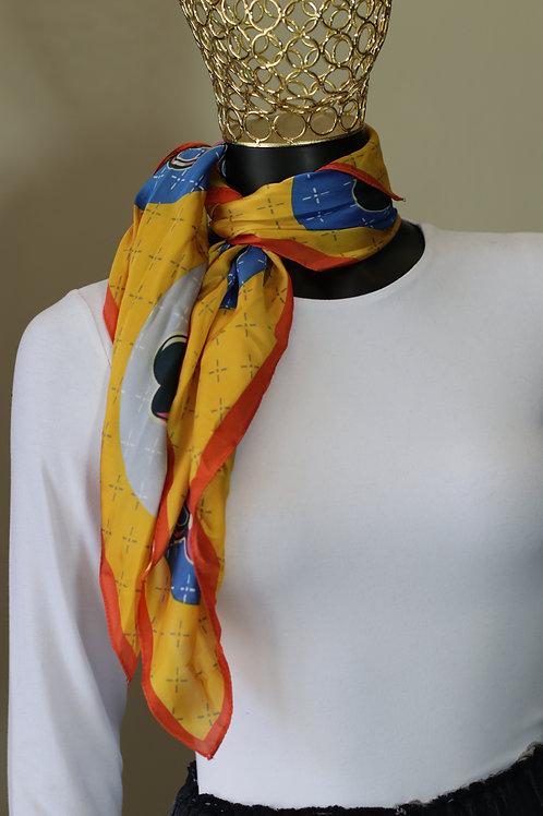 S19 Import Medium Silk Scarf