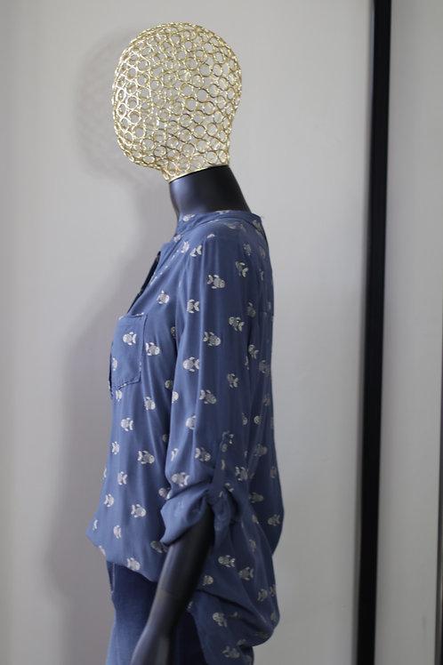 W20 Import Blue Shirt