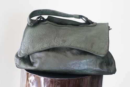 W20 Import B758 Green Leather Bag