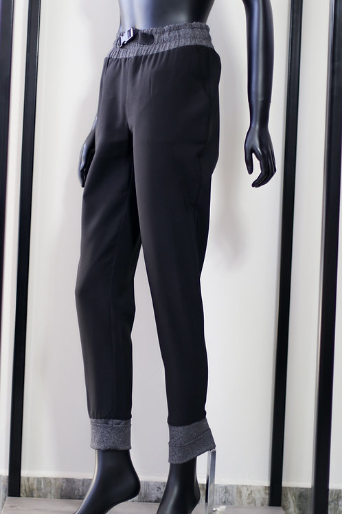 W20 Import Black D/String Pant