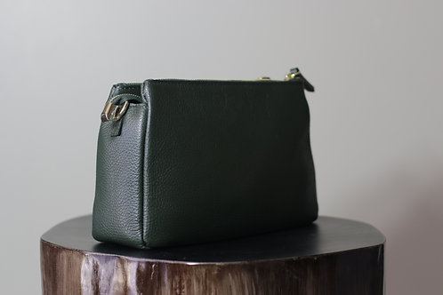 W20 Import 1003 Green Leather Bag