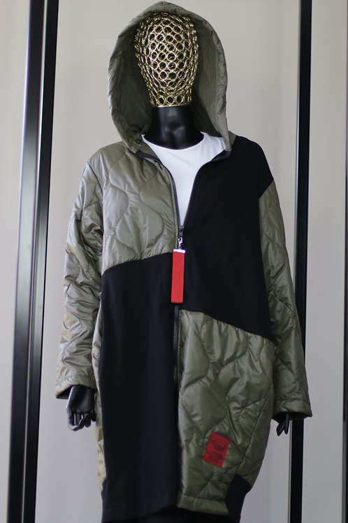 W20 Import Green Puffer Jacket