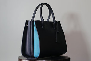 W20 Import Black Ruga Leather Bag