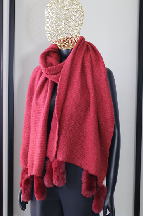 W20 Import Red Scarf
