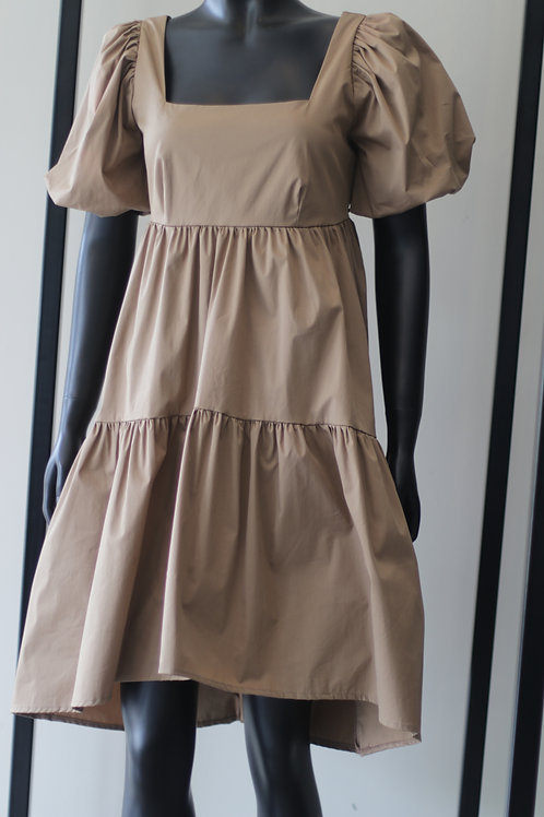 Rina S20 Biscuit Abito Dress