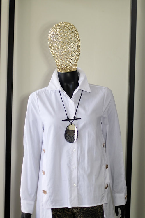 W20 White Gold Button Shirt
