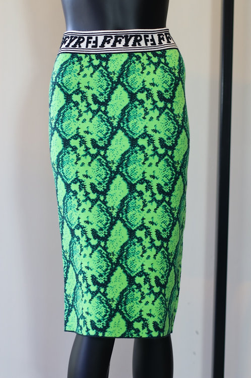 W20 Import Maille Green Skirt