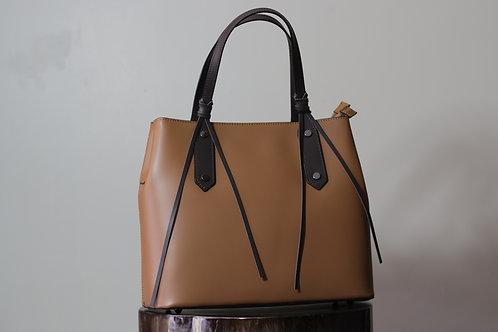 W20 Import 3743 Tan Ruga Leather Bag