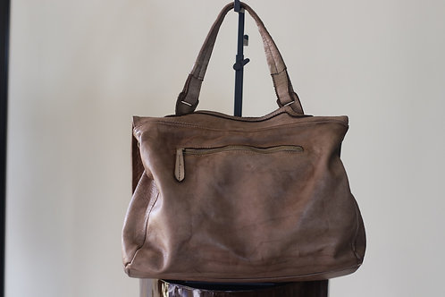 W20 Import Tan Leather Bag
