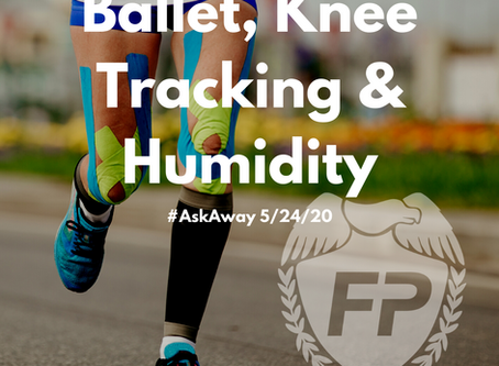 Ballet, Knee Tracking & Humidity