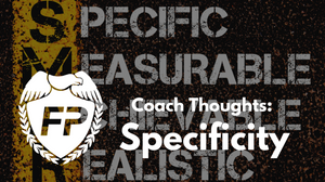 Running and the principle of specificity